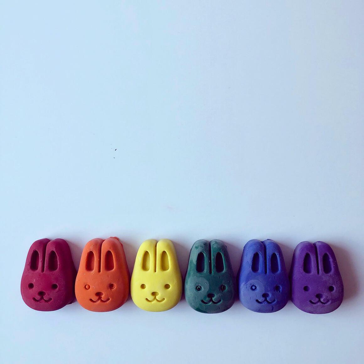 Bunny Eco-Friendly Crayons | Trada Marketplace
