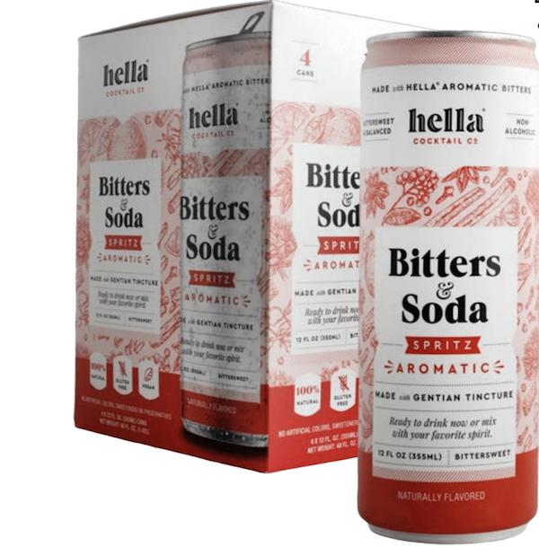 Bitters & Soda Spritz Aromatic 4-Pack | Trada Marketplace
