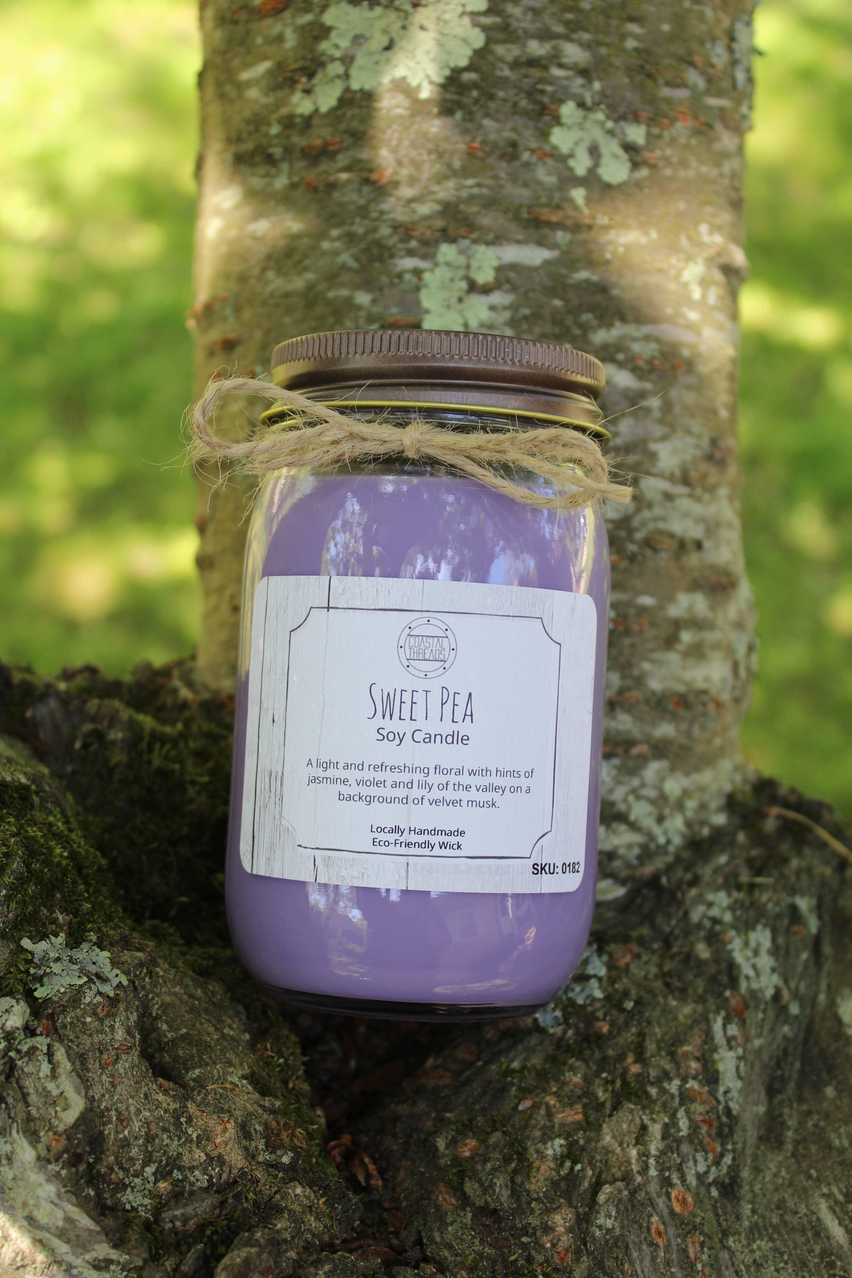 Sweet Pea Soy Candle | Trada Marketplace