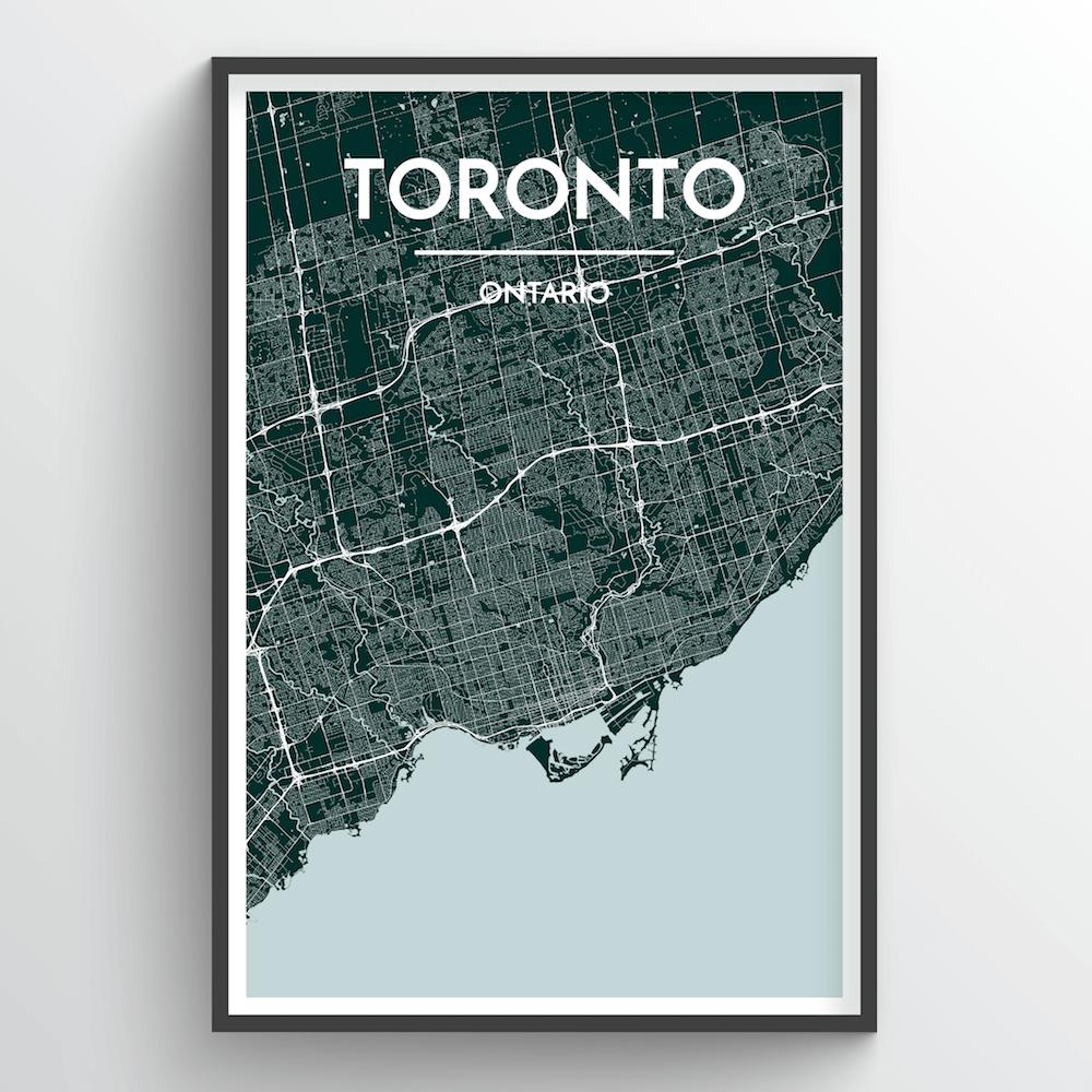 Toronto City Map | Trada Marketplace