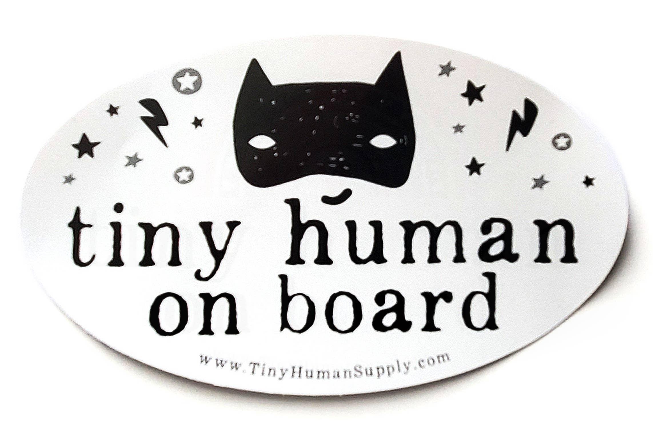 Tiny Human Bumper Sticker | Trada Marketplace