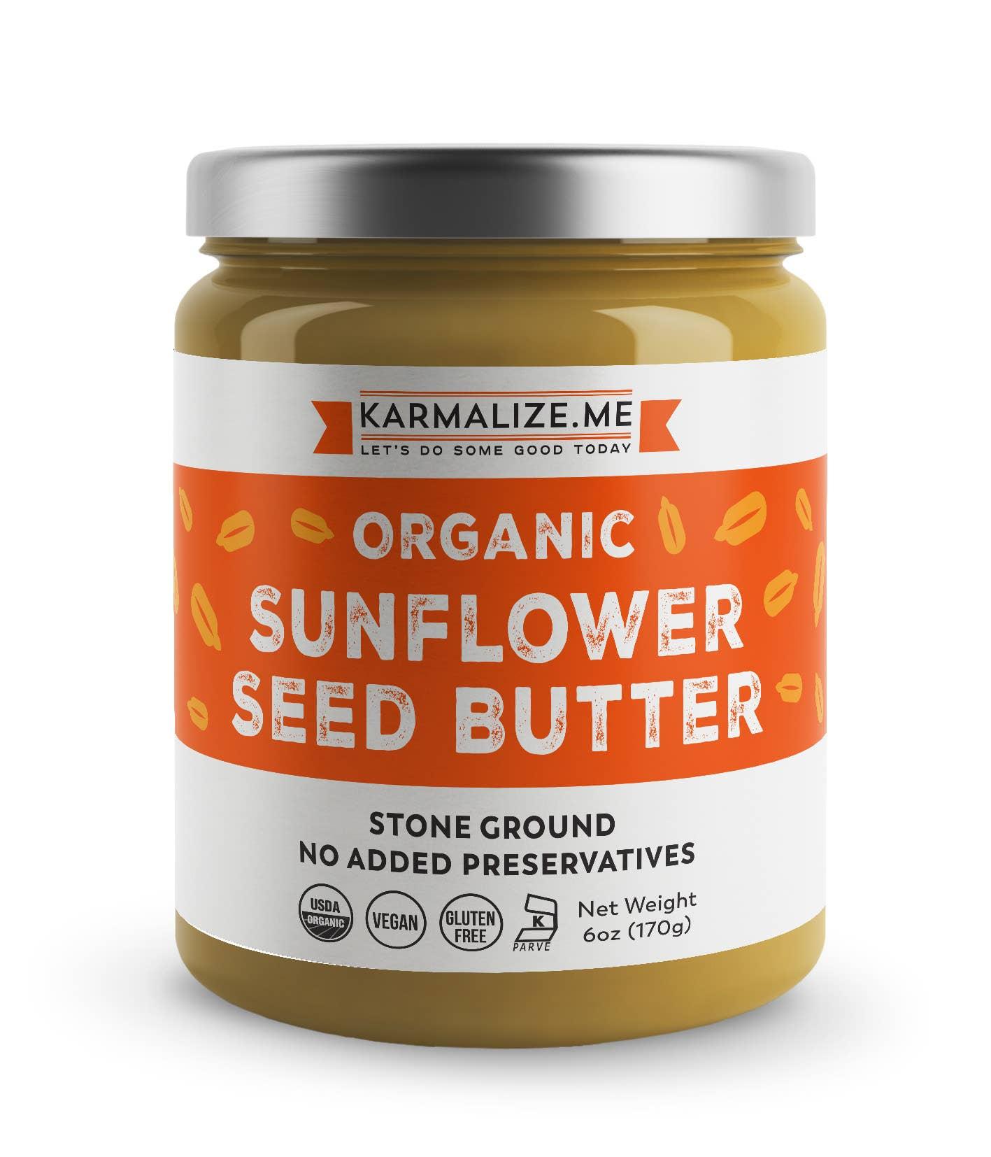 Organic Sunflower Seed Butter  | Trada Marketplace
