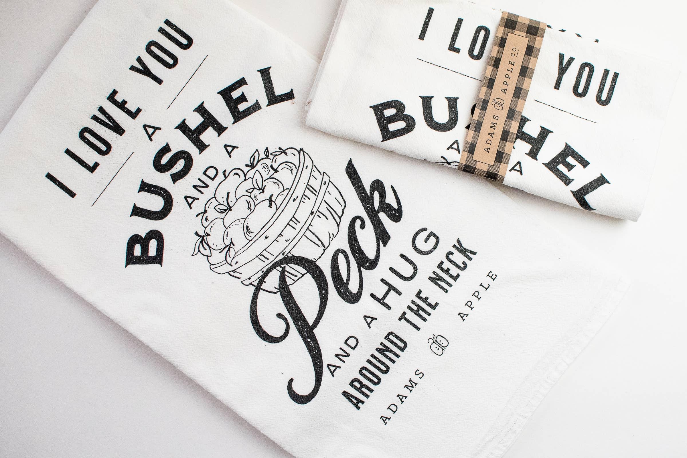 Bushel and a Peck Flour Sack Towel | Trada Marketplace