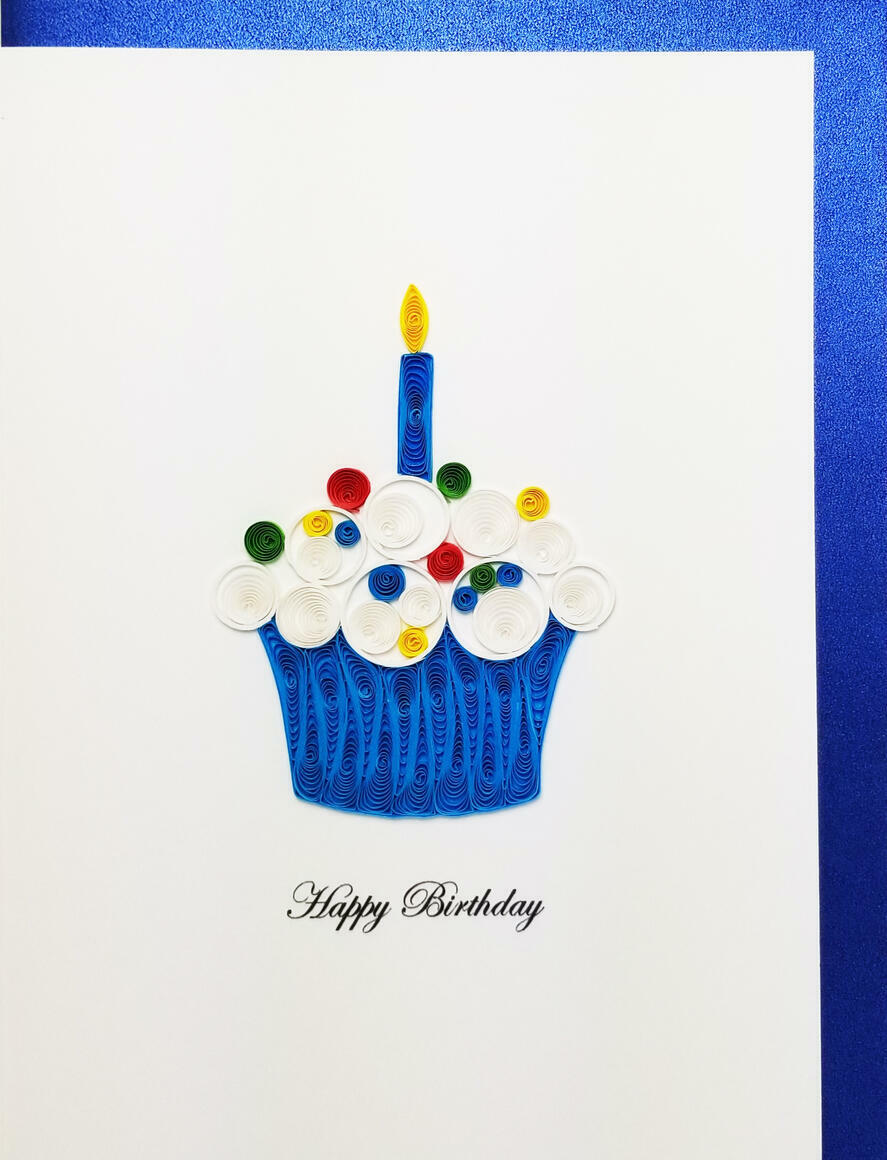 Happy Birthday Cupcake   Trada Marketplace