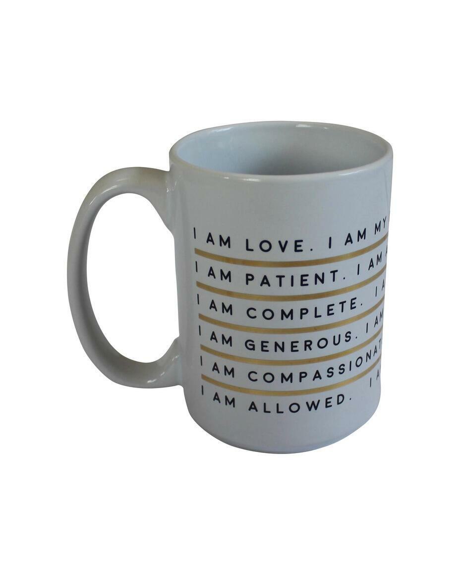 I Am Affirmation - Porcelain Mug   Trada Marketplace