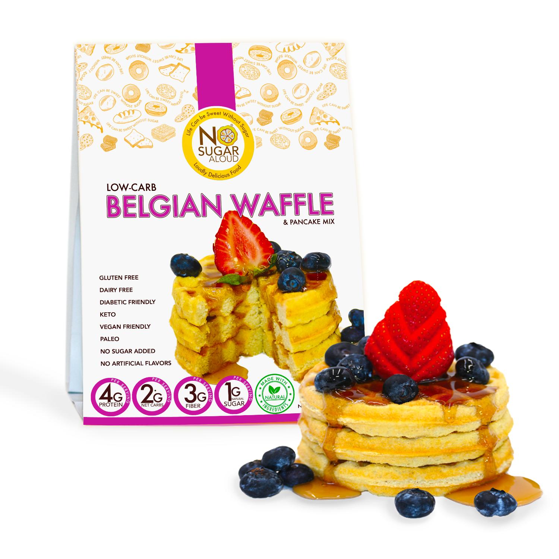 Low Carb Belgian Waffle Mix   Trada Marketplace