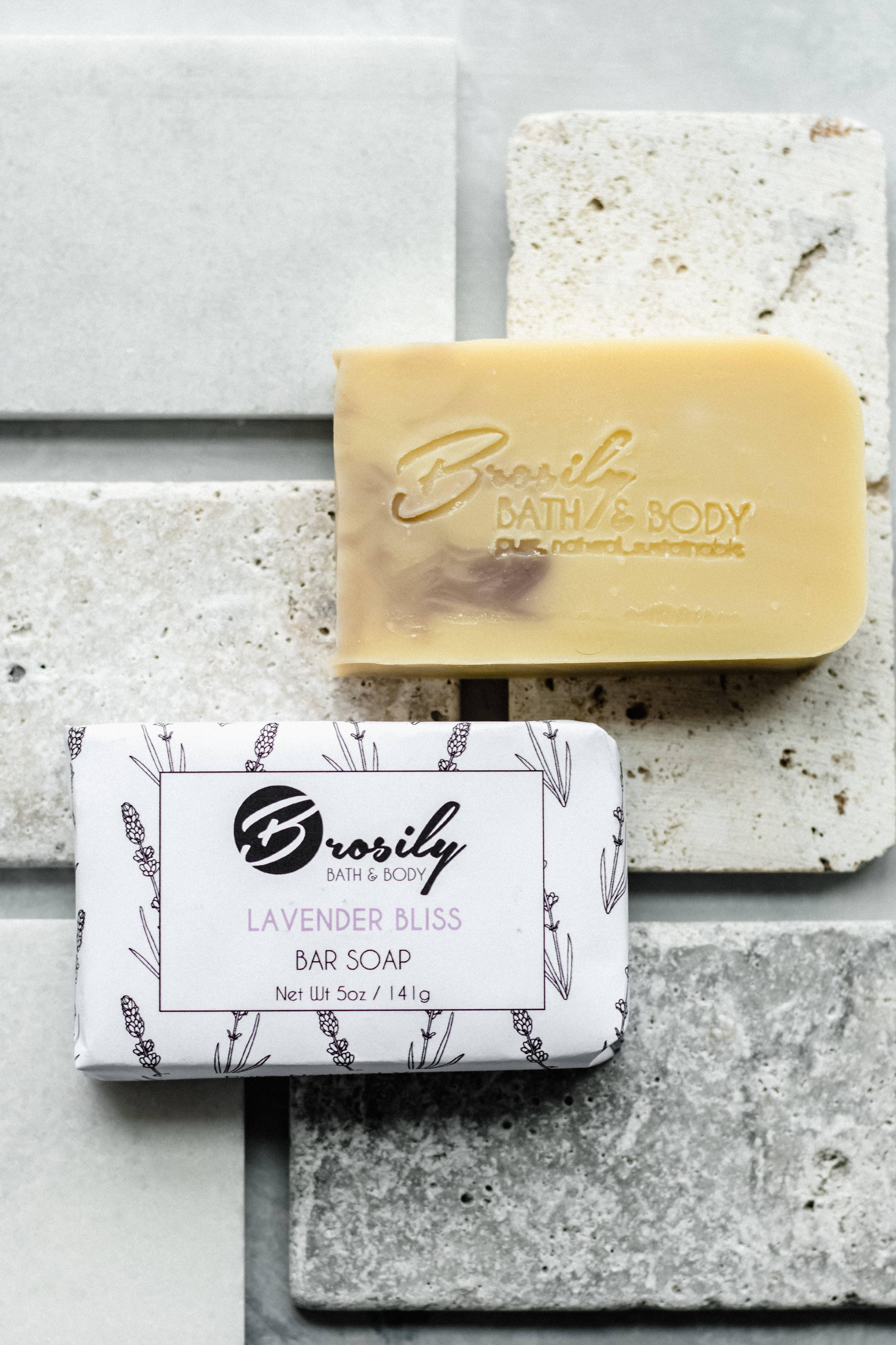 Bar Soap: Lavender Bliss Vegan Soap 5 oz - Relaxing   Trada Marketplace