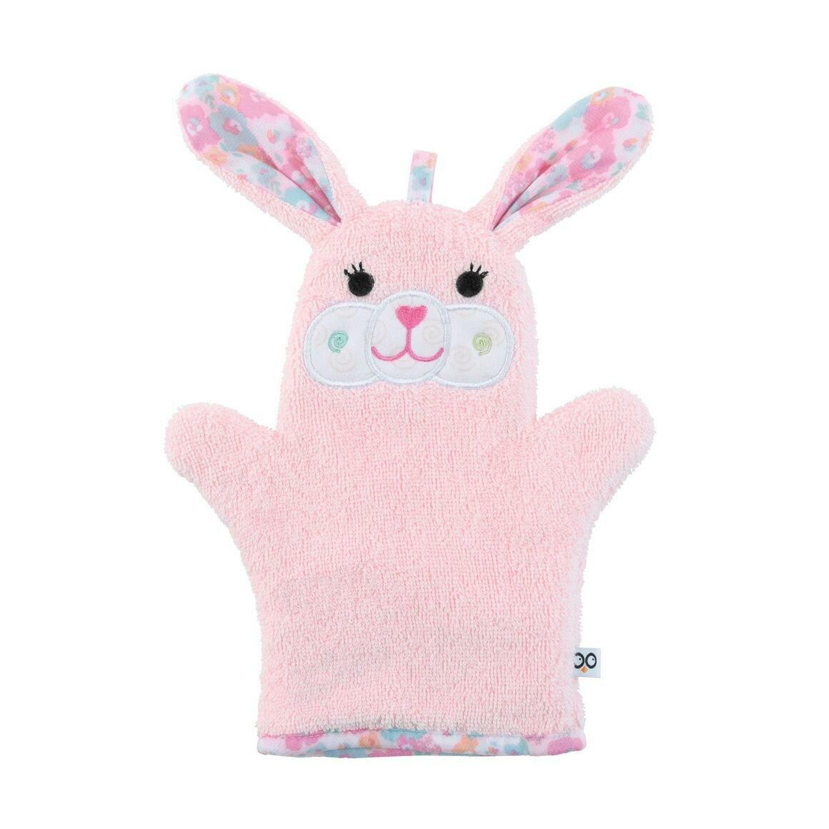 Beatrice the Bunny Bath Mitt | Trada Marketplace