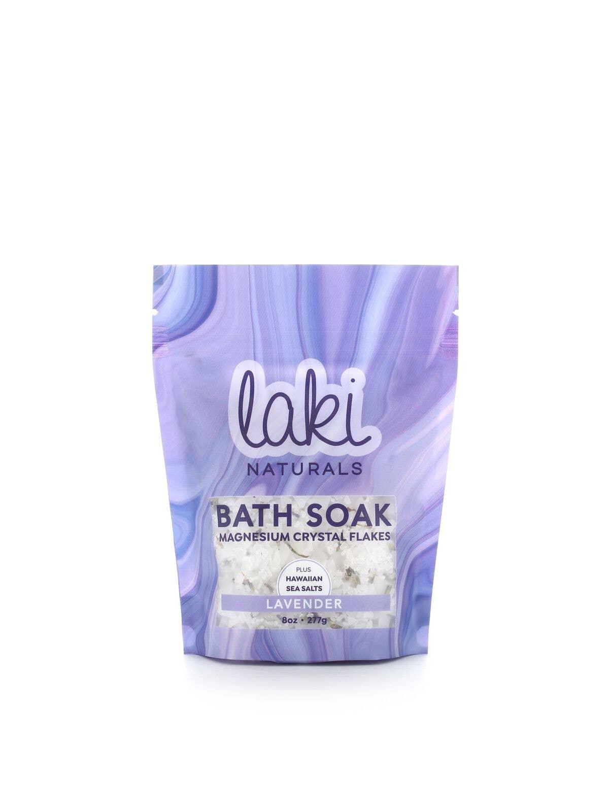 8 oz Lavender Magnesium Flake Soak | Trada Marketplace