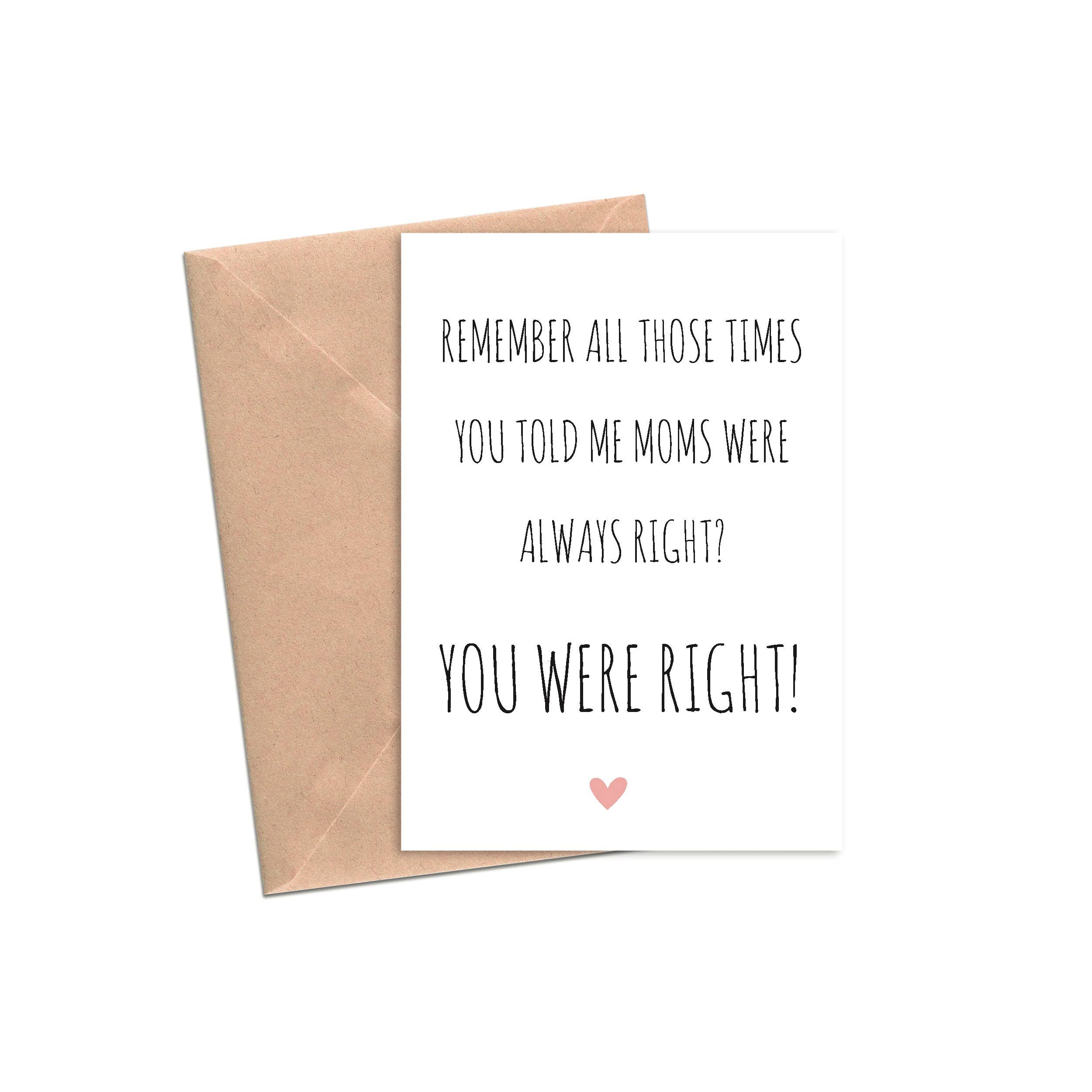 Mom's Always Right | A2 | Trada Marketplace