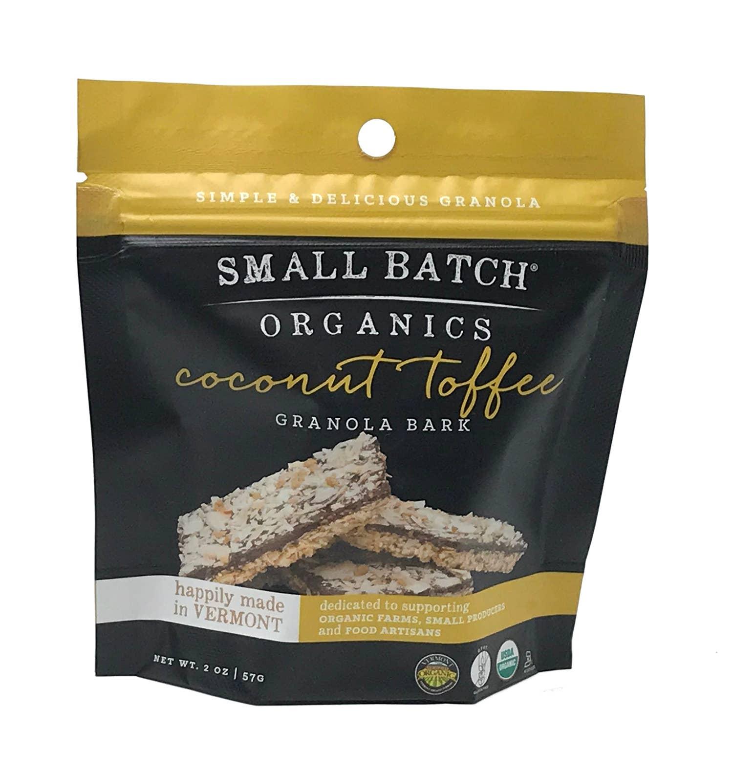 2oz Coconut Toffee Granola Bark | Trada Marketplace