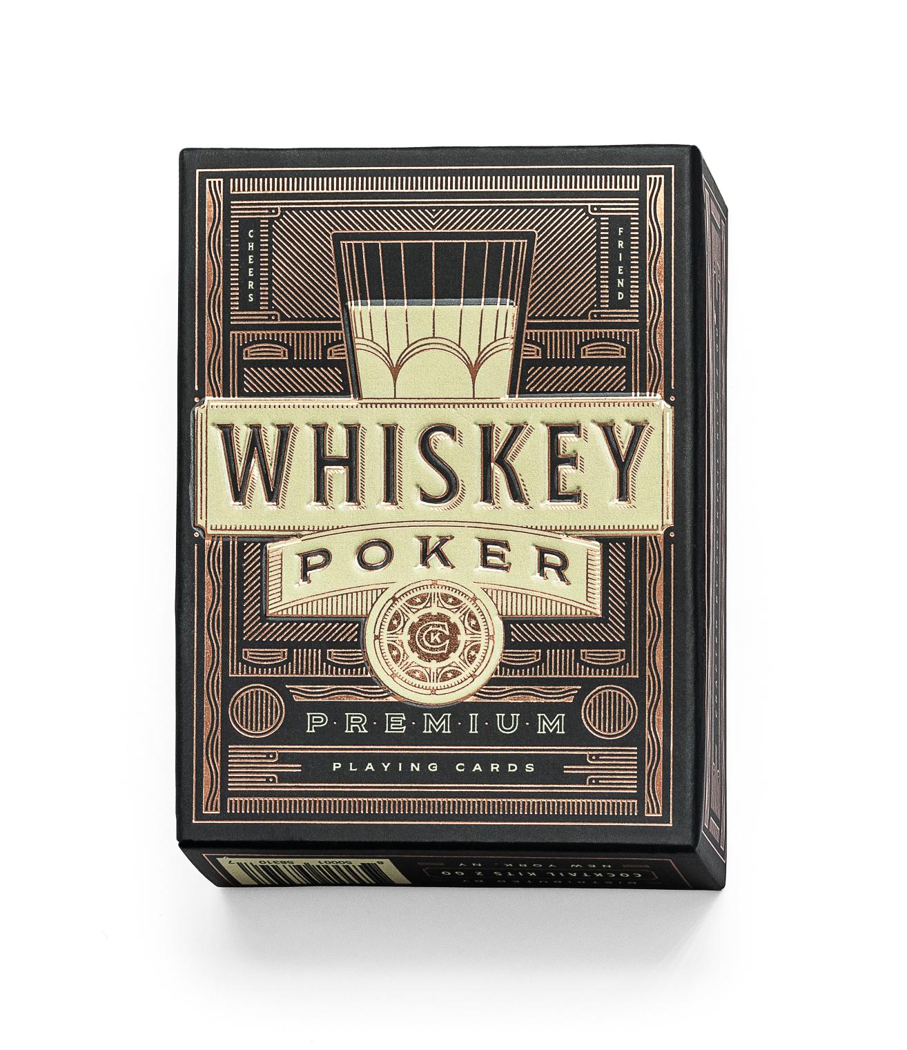 Whiskey Poker Playing Cards | Trada Marketplace