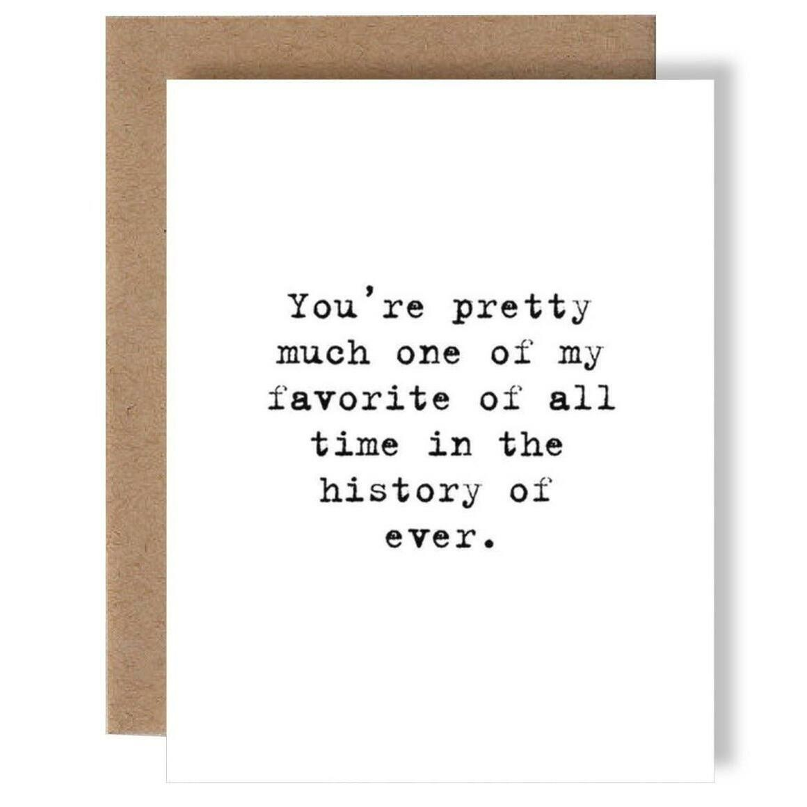 History Of Ever Greeting Card   Trada Marketplace