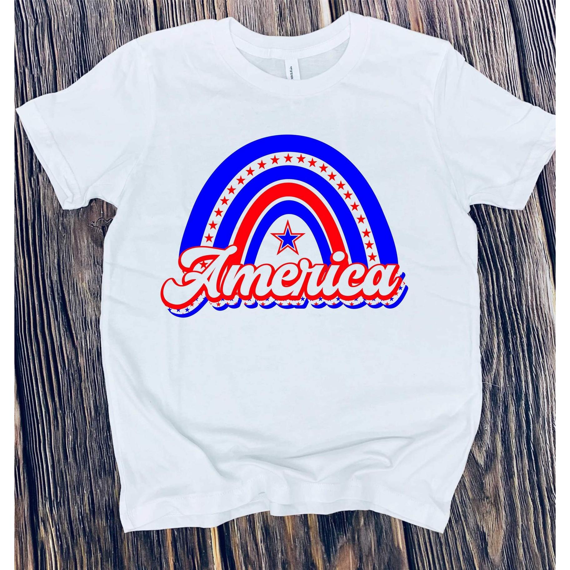 AMERICA GRAPHIC TEE - White   Trada Marketplace