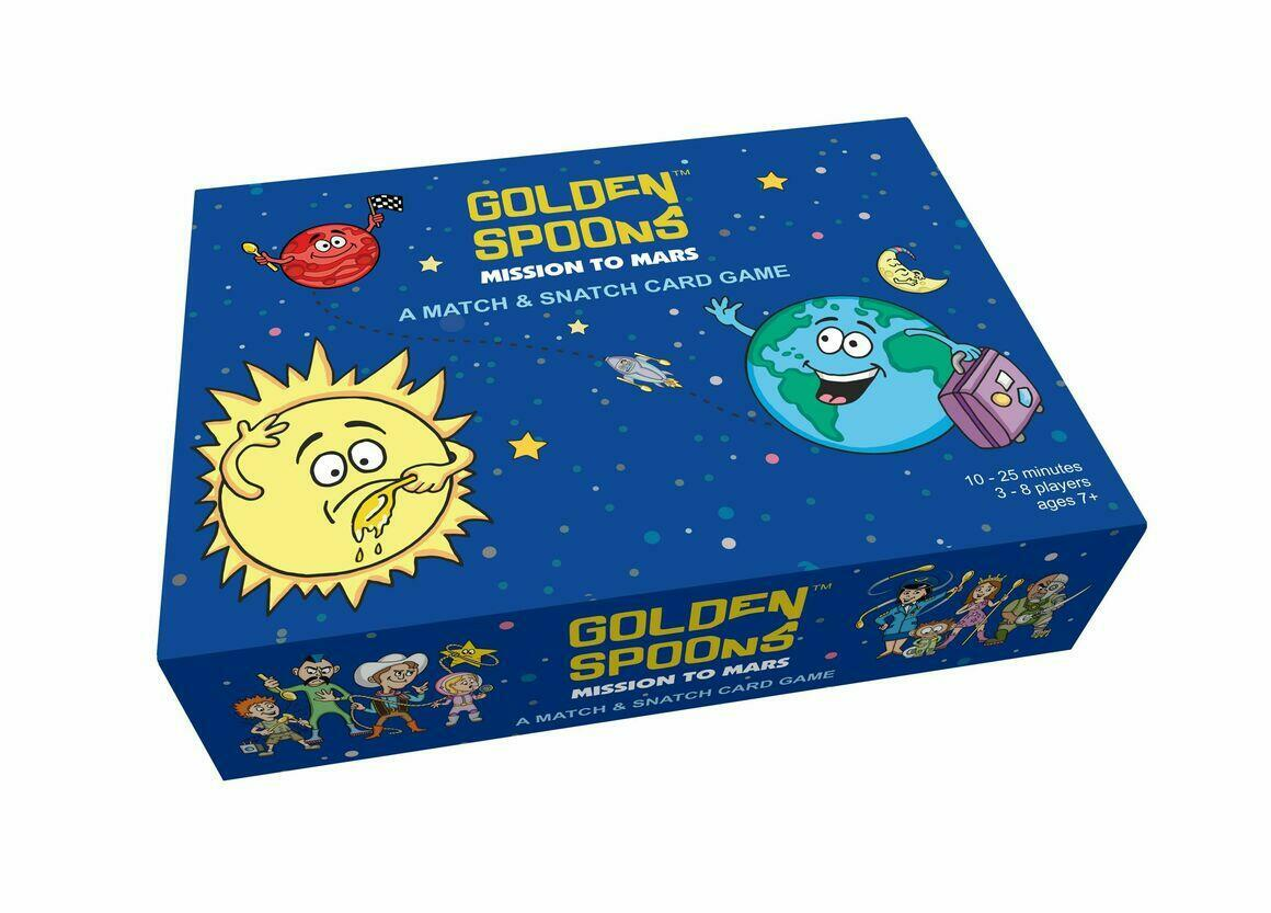Golden Spoons: Mission to Mars   Trada Marketplace