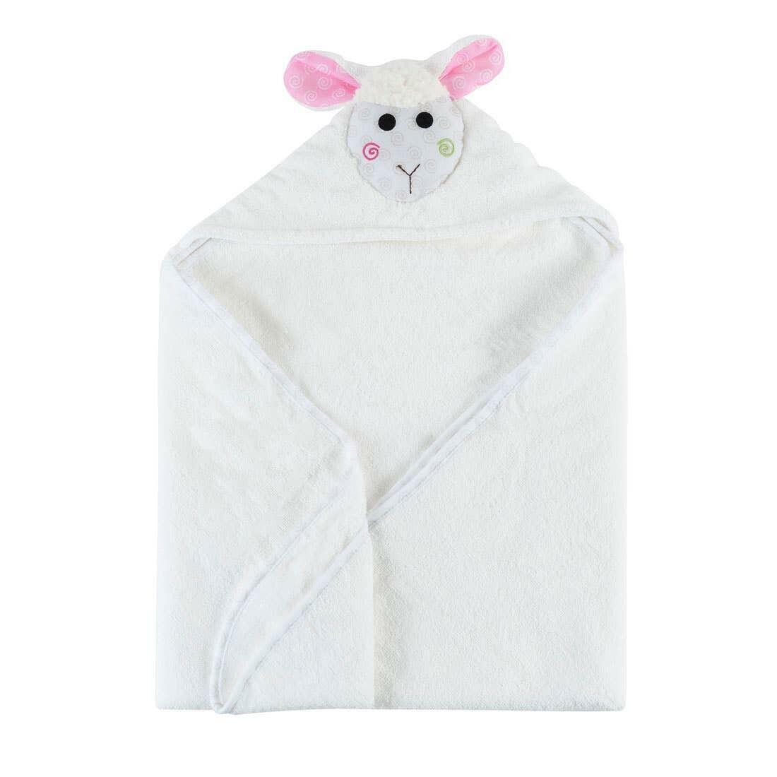 Lola the Lamb Baby Towel | Trada Marketplace