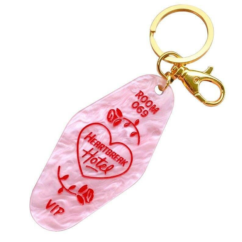 Heartbreak Hotel Keychain   Trada Marketplace