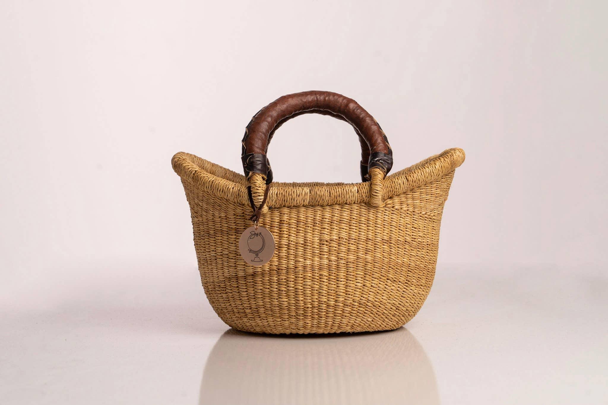 Sonder & Holliday- The Victoria Basket - Style No. 1 Natural | Trada Marketplace