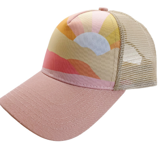 Sunset Trucker Hat | Trada Marketplace