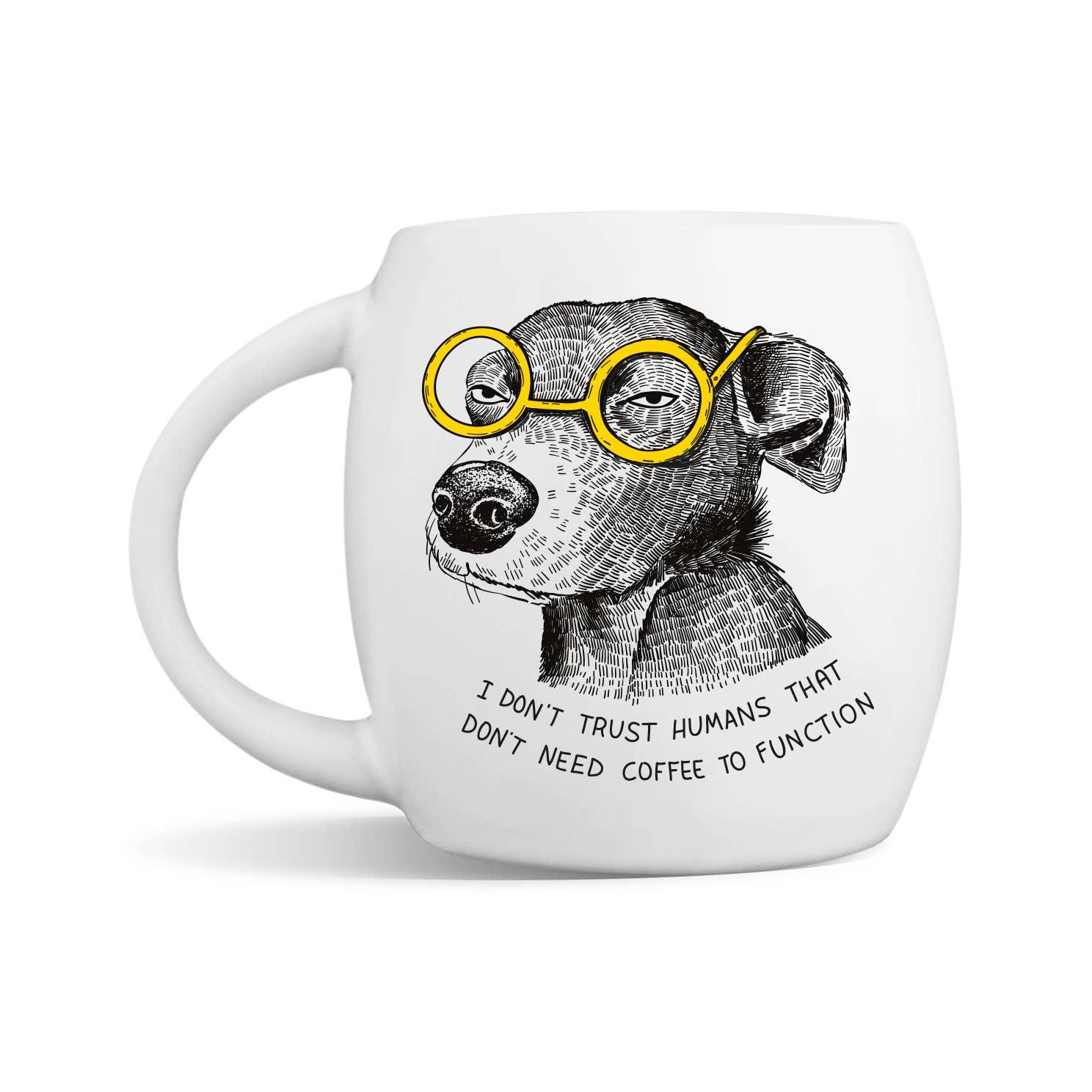 Suspicious Mutt Mug | Trada Marketplace