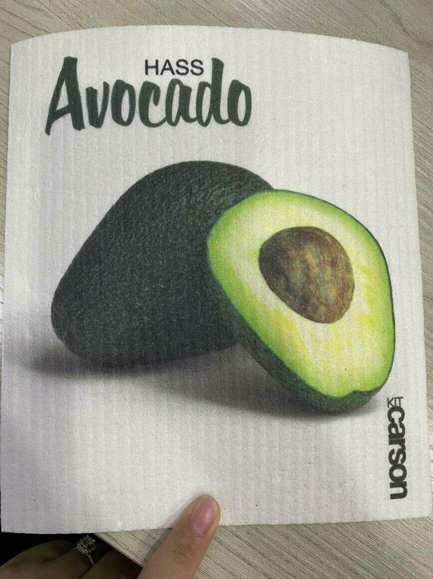 Hass Avocado Swedish Dishcloth   Trada Marketplace
