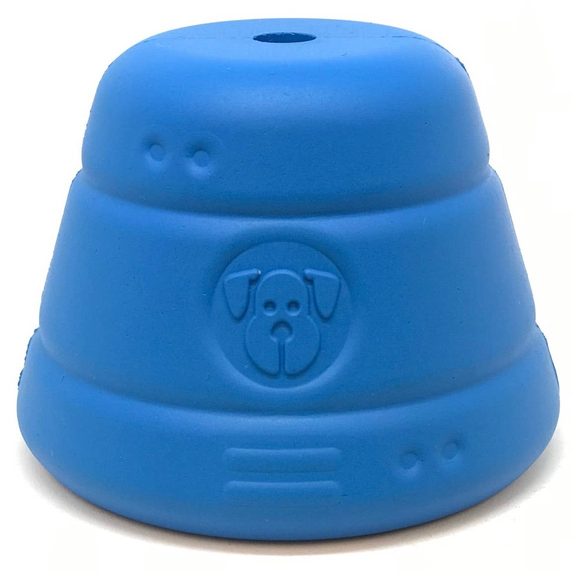 Spotnik Space Capsule -Chew Toy-Treat Dispenser-Large-Blue   Trada Marketplace