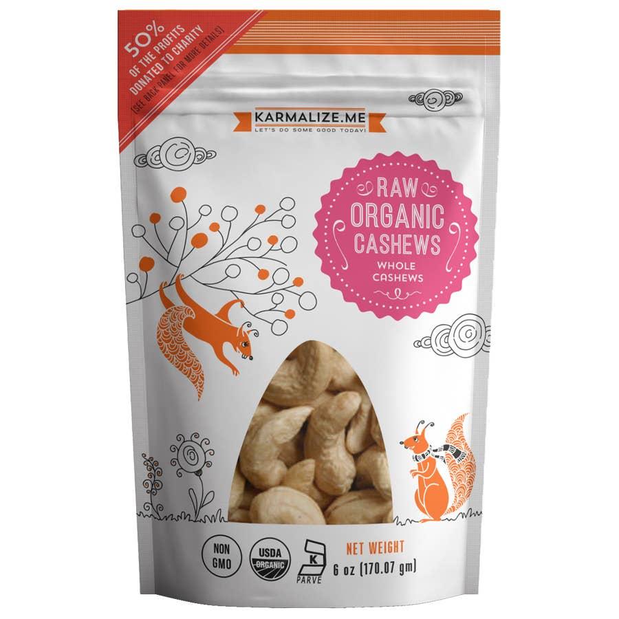 Raw Organic Cashews - 6 oz | Trada Marketplace