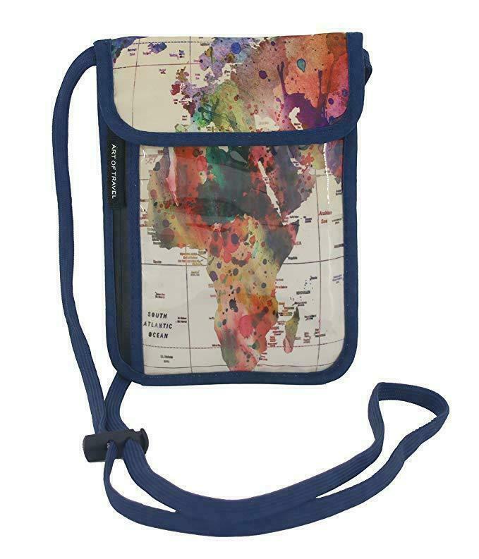 Passport Wallet - Mark Ashkenazi - World Map | Trada Marketplace
