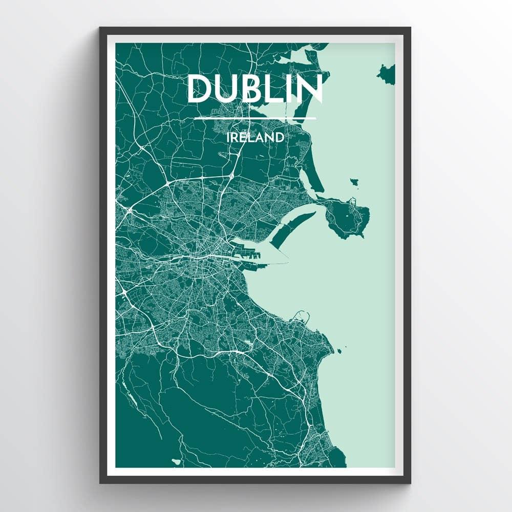 Dublin City Map | Trada Marketplace