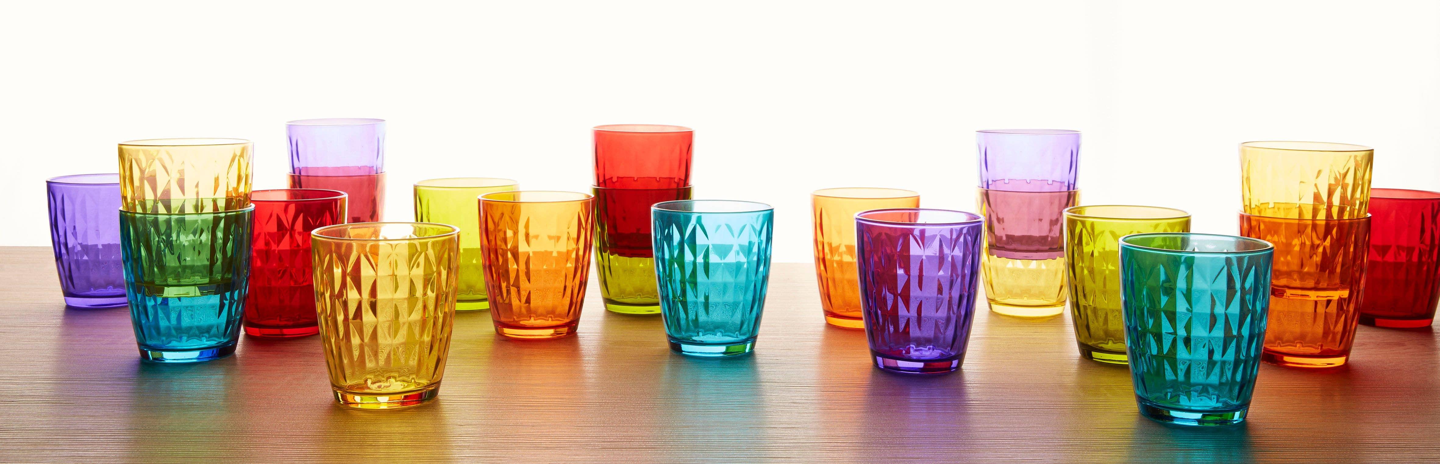 Glass Gemma Tumbler Set   Trada Marketplace