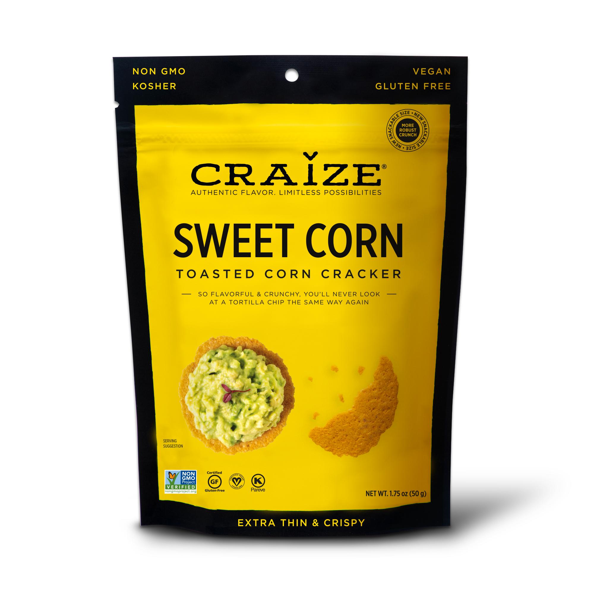 Sweet Toasted Corn Crackers 1.75oz | Trada Marketplace