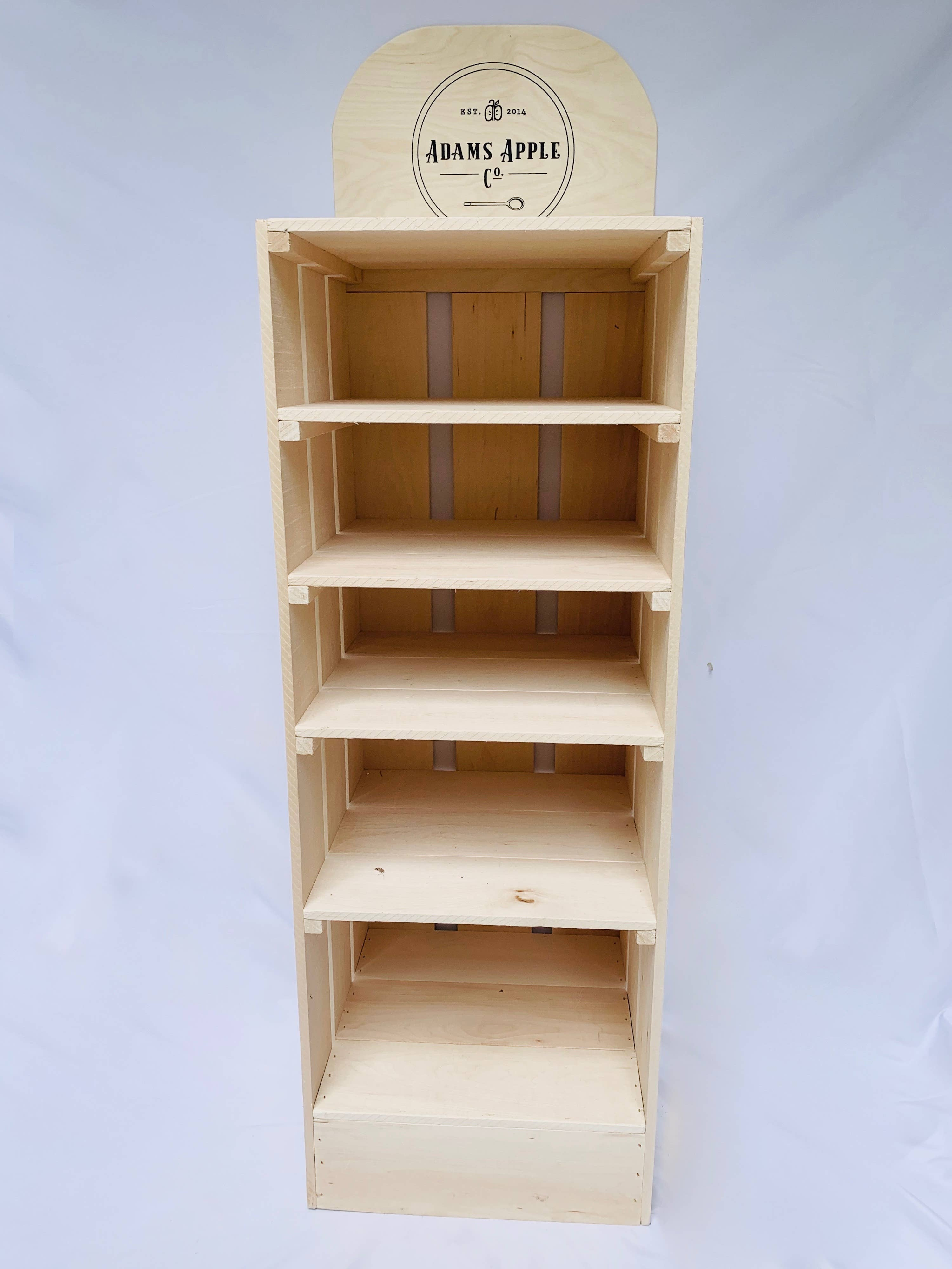 Adams Apple Co. Solid Wood Display | Trada Marketplace