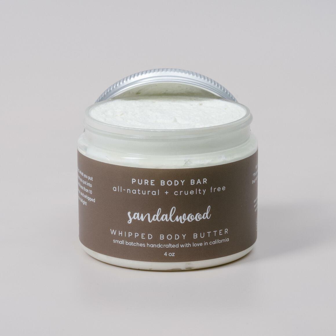Sandalwood Whipped Body Butter   Trada Marketplace