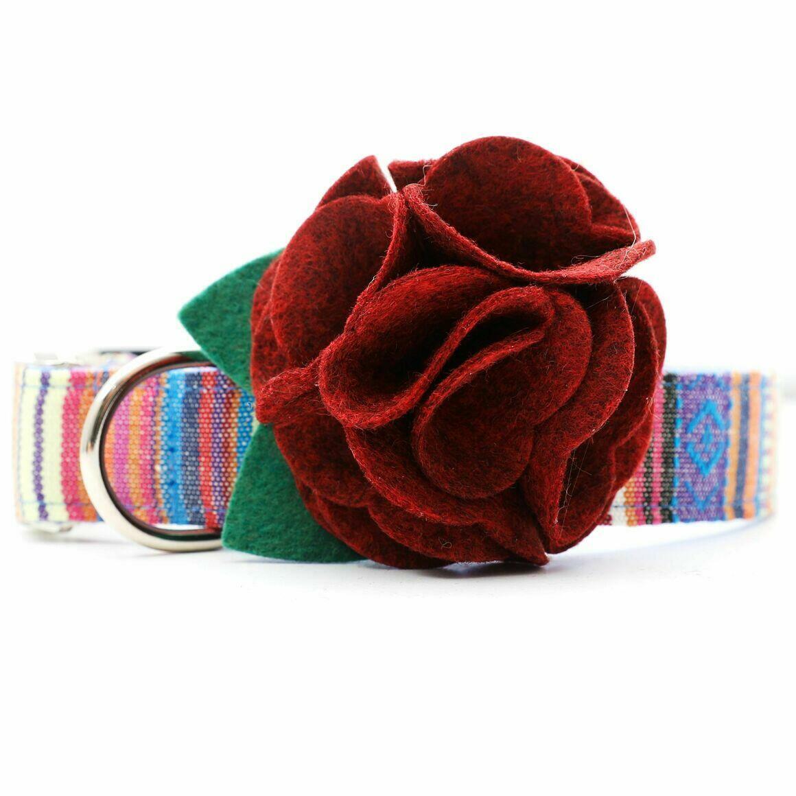 Dog Collar Hydrangea Flower - Sienna   Trada Marketplace