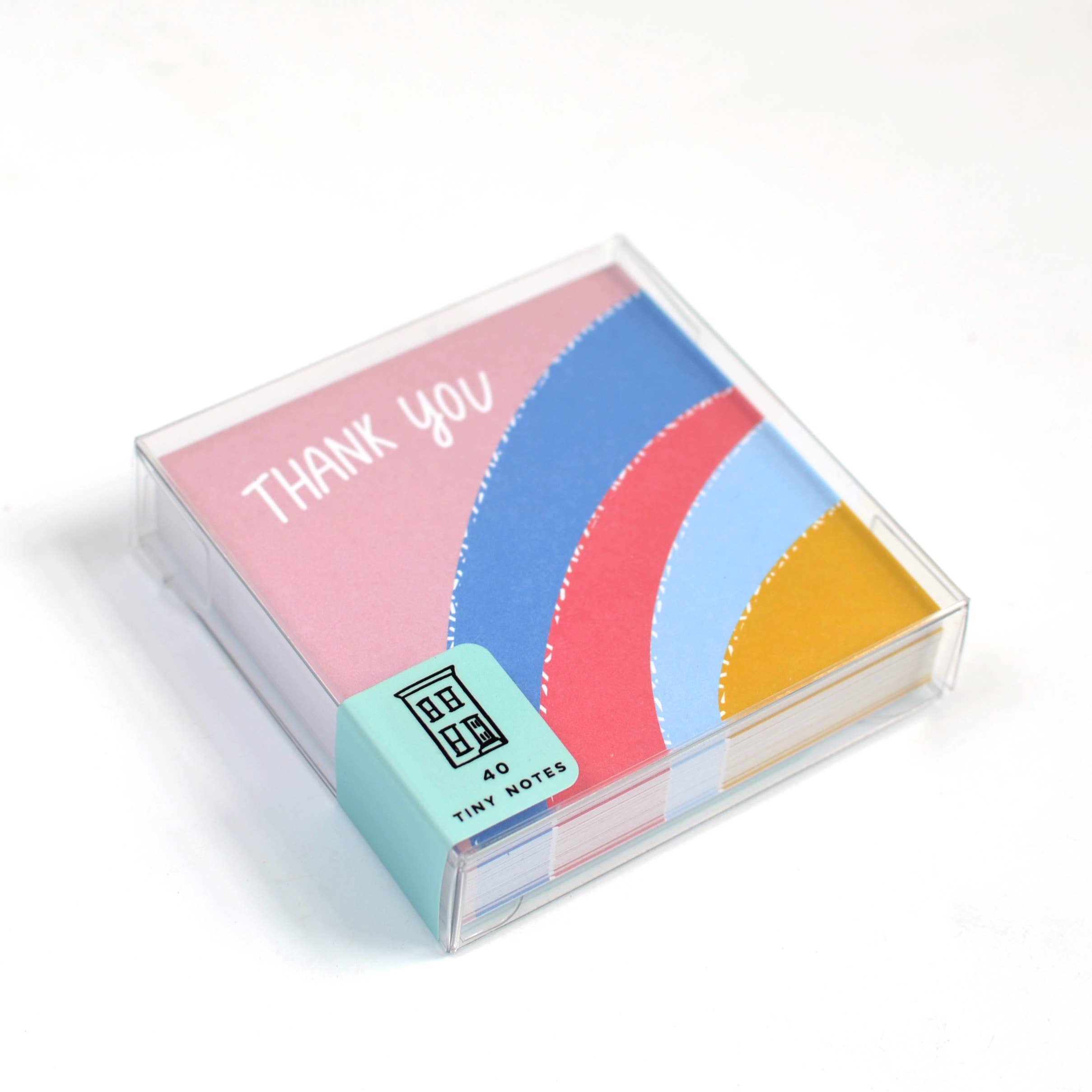 Thank You Rainbow Tiny Notes | Trada Marketplace