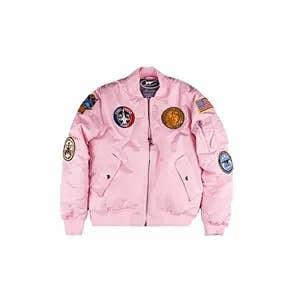 Adult MA-1 Flight Jacket Pink   Trada Marketplace