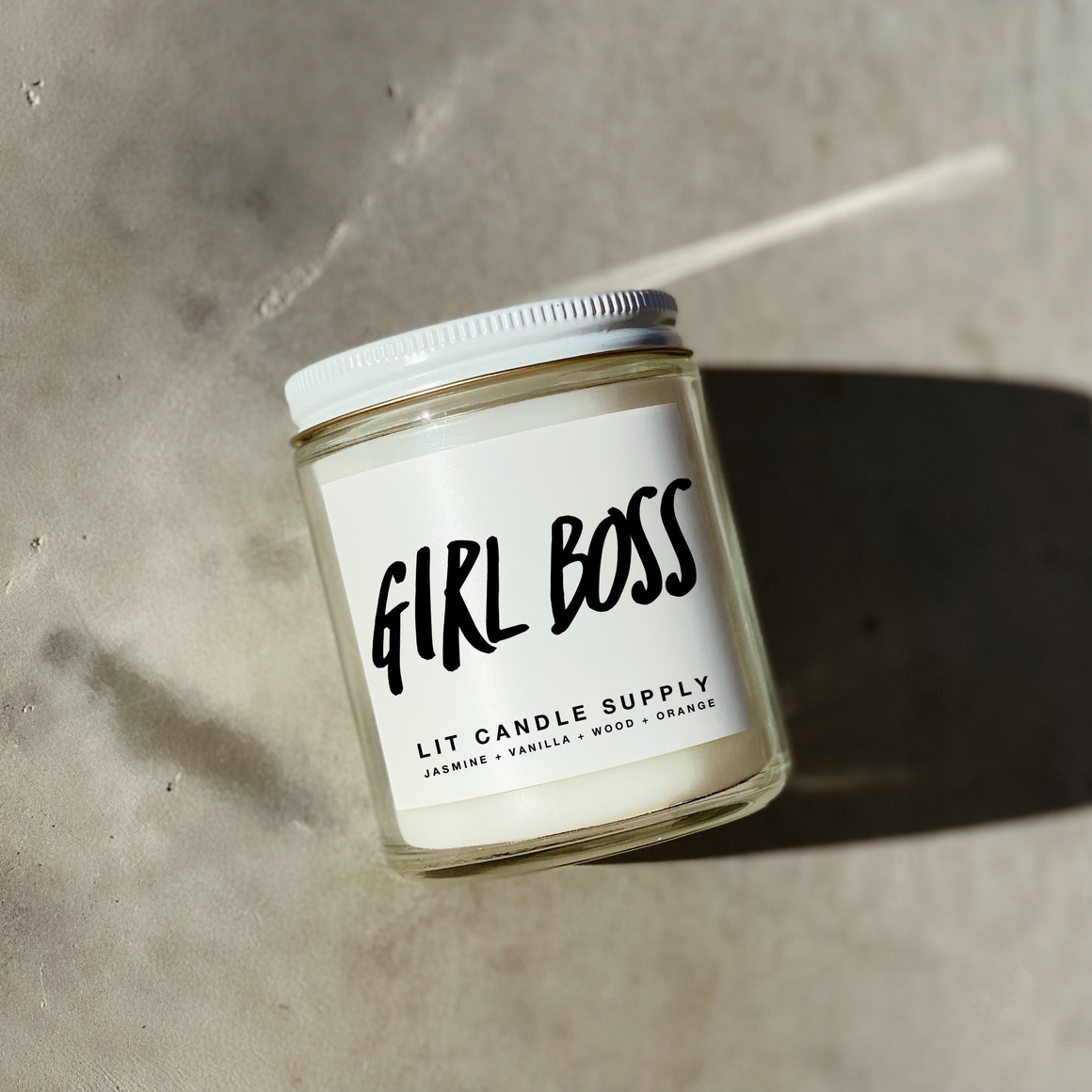Girl Boss Soy Candle | Trada Marketplace
