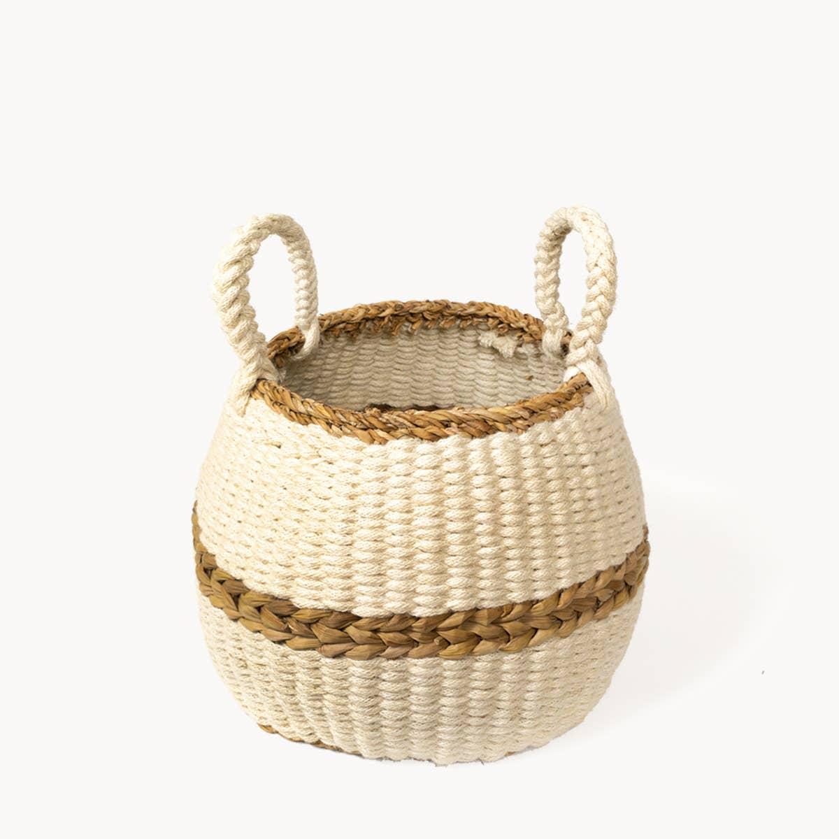 Ula Blanco Basket | Trada Marketplace