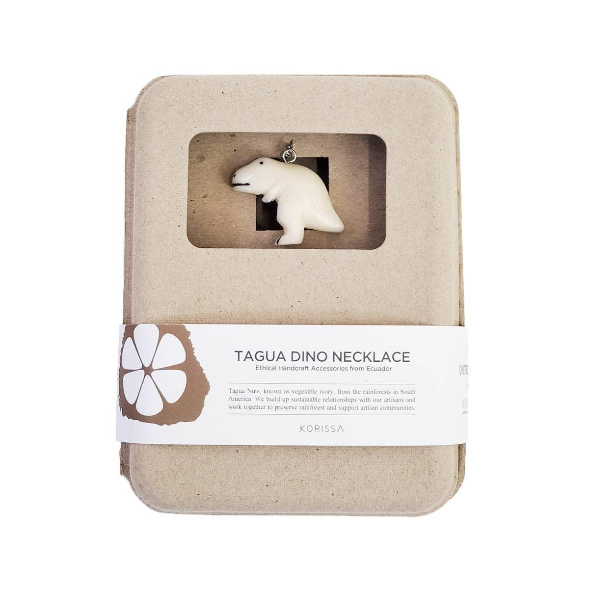 Dino Tagua Necklace - Trex | Trada Marketplace