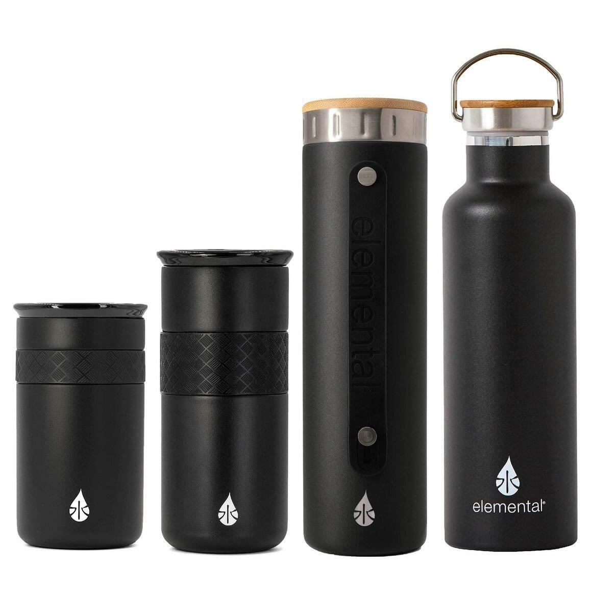 Sample Pack of Elemental Drinkware Products - Matte Black   Trada Marketplace
