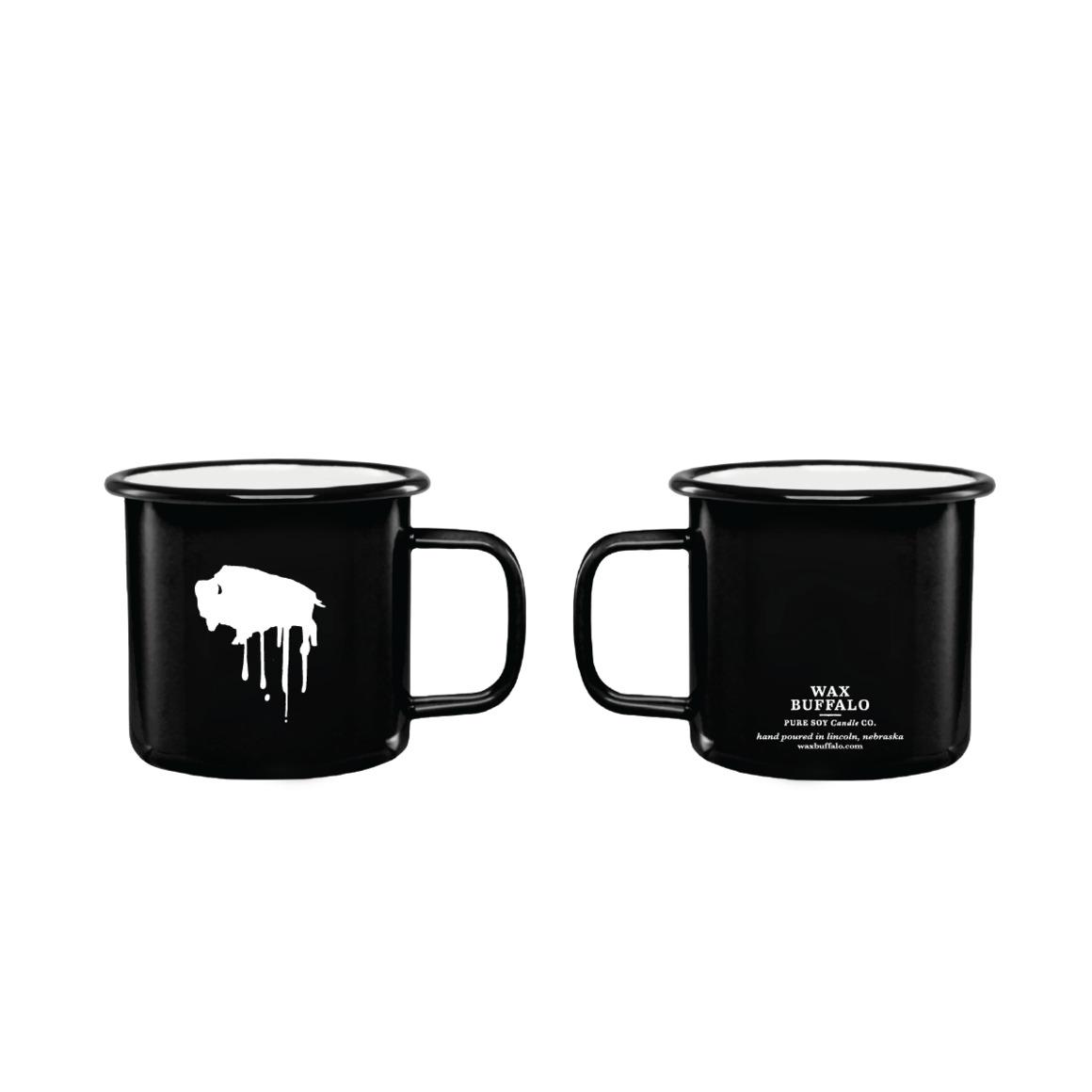 12oz Enamel Mug Candle | Trada Marketplace