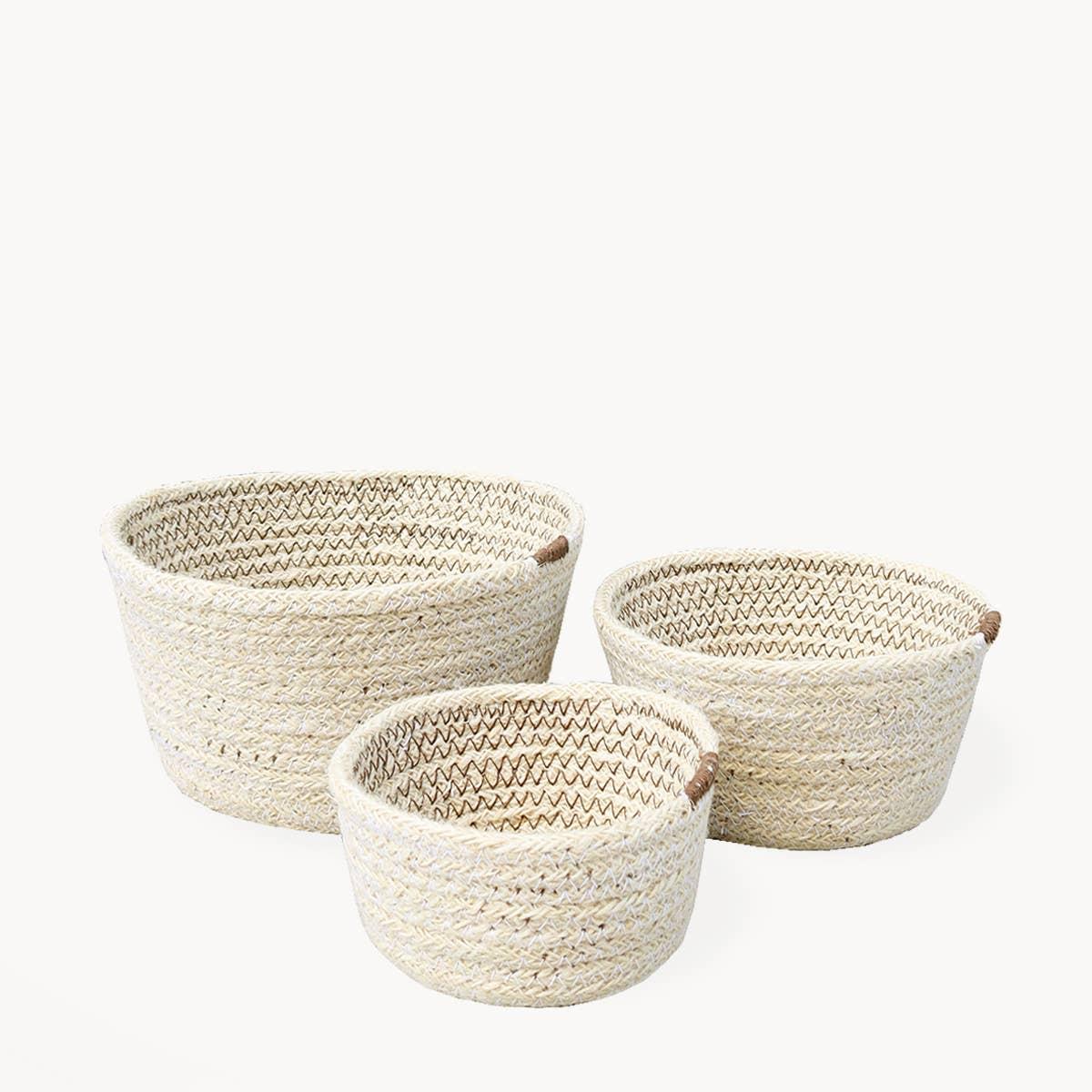 Amari Bowl - Brown (Set of 3) | Trada Marketplace