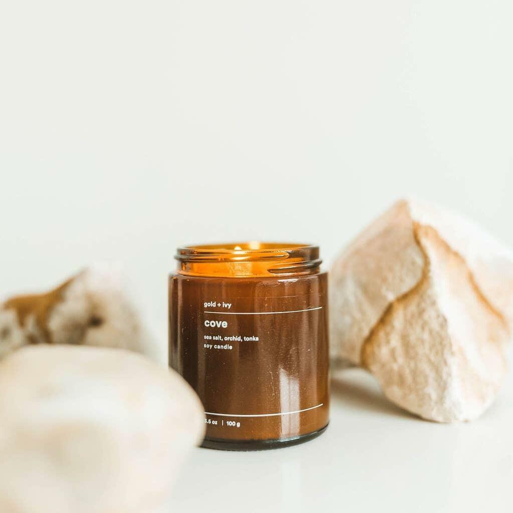cove 3.5 oz. soy candle - mini | Trada Marketplace