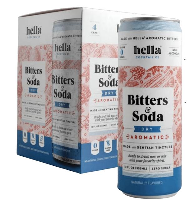 Bitters & Soda Dry Aromatic 4-Pack | Trada Marketplace