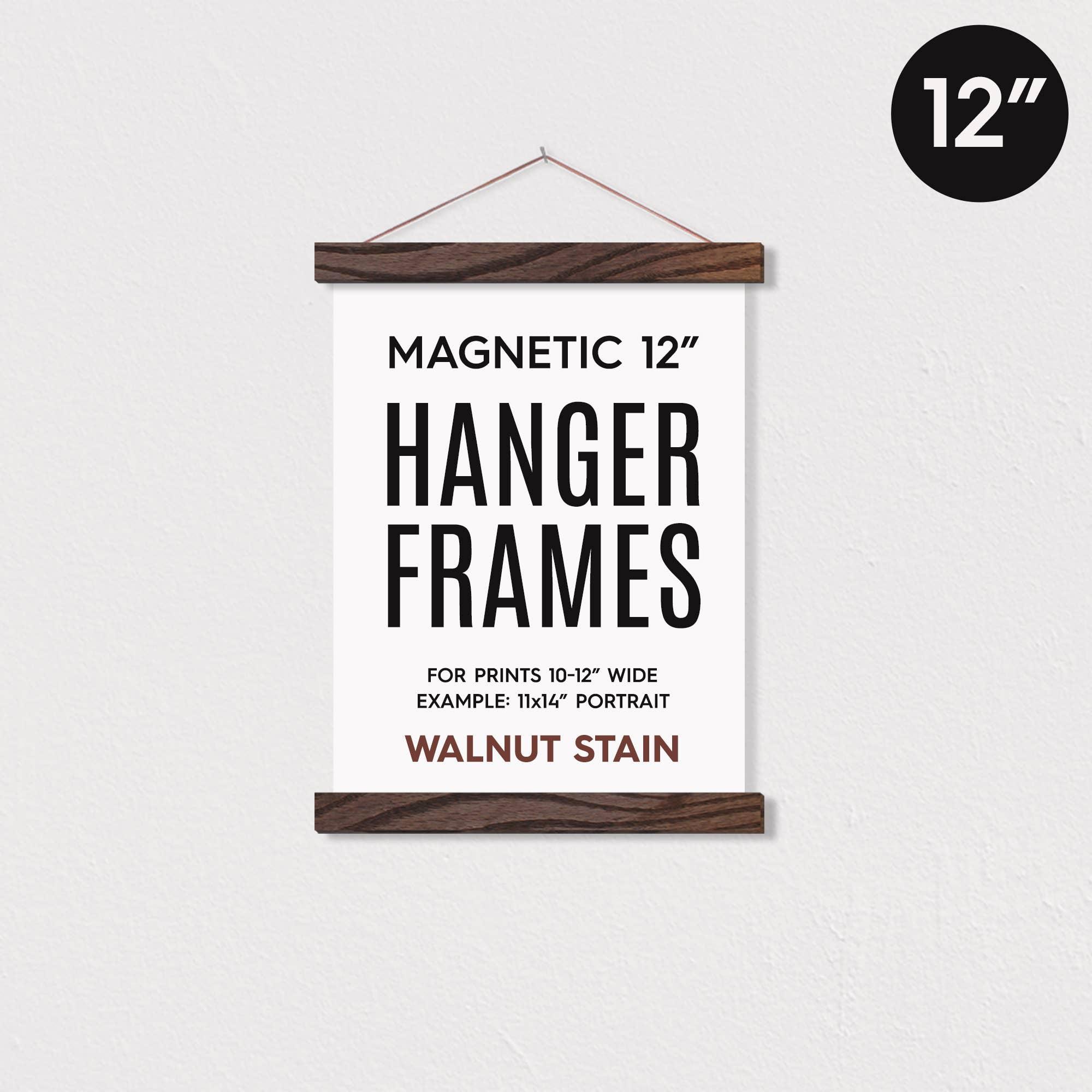 "12"" MAGNETIC Poster Hanger Frame™ for 11x14"" portrait prints   Trada Marketplace"