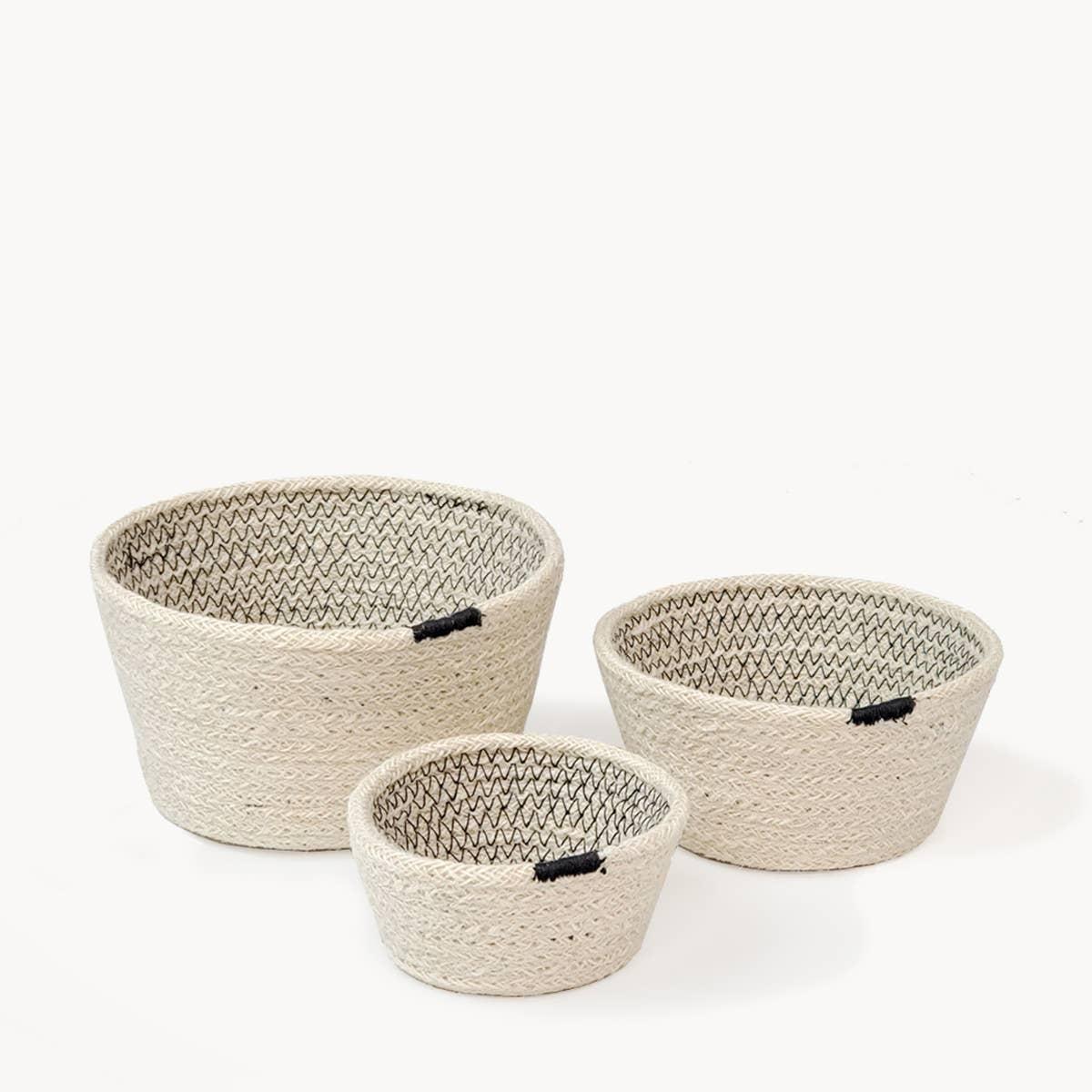 Amari Bowl - Black (Set of 3) | Trada Marketplace