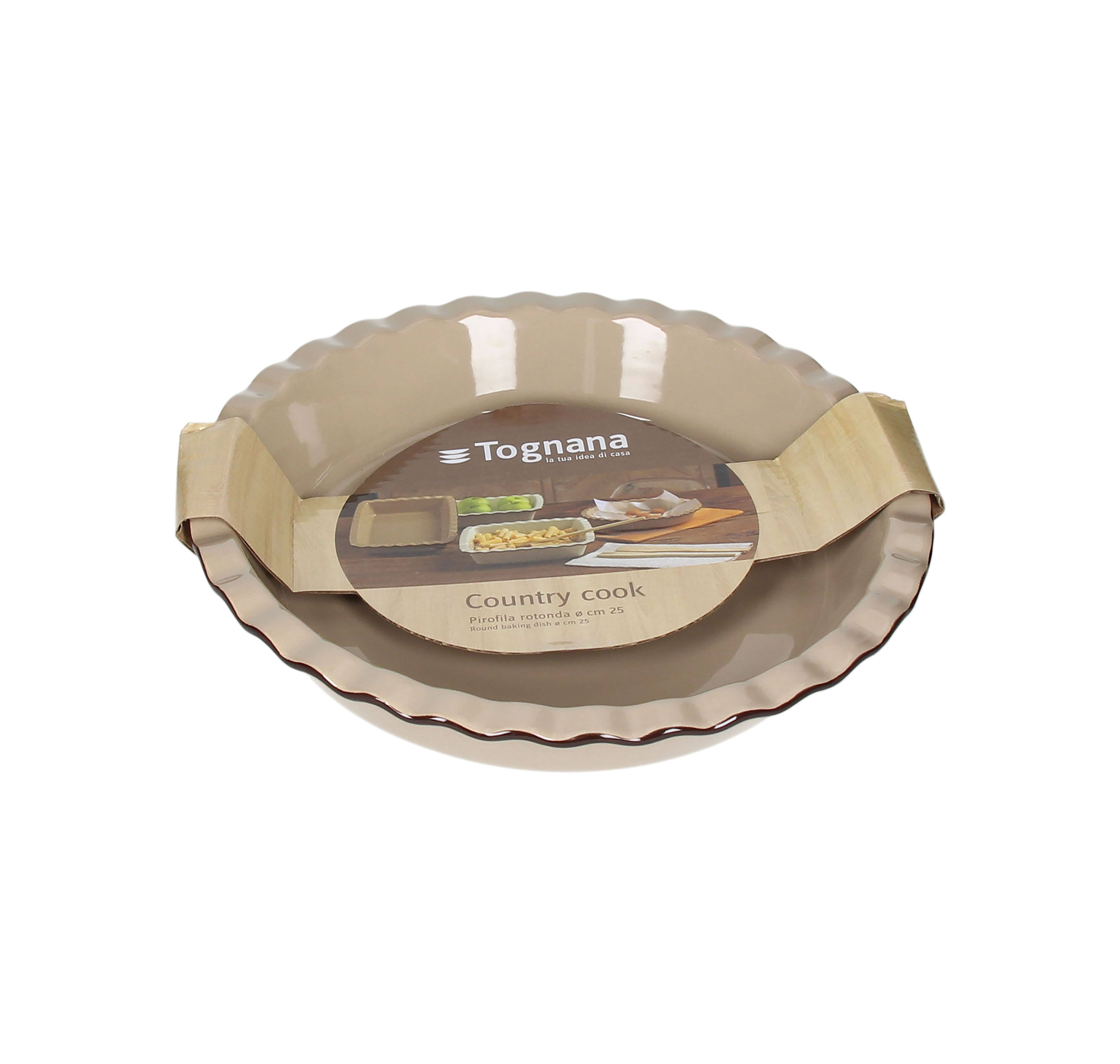 """10"""" Round Country Cook Baking Dish   Trada Marketplace"""