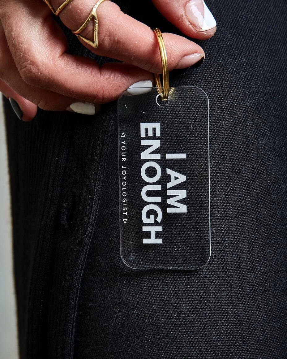 I am enough - keychain   Trada Marketplace