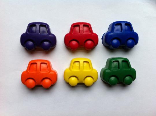 Tiny Car Eco-Friendly Crayons | Trada Marketplace