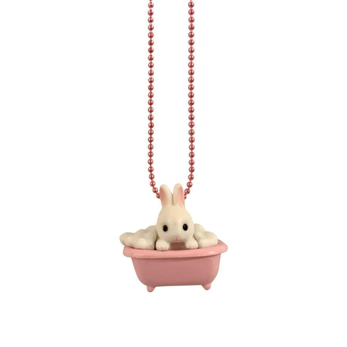 Ltd. Pop Cutie Bathtime Bunny Kids Necklaces | Trada Marketplace